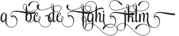 AmethystG ttf (400) Font UPPERCASE