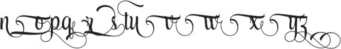 AmethystG ttf (400) Font LOWERCASE