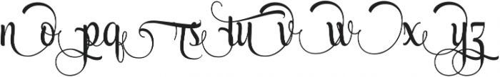 AmethystH ttf (400) Font LOWERCASE