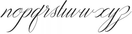 Amfibi Script Regular otf (400) Font LOWERCASE
