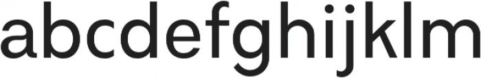 Amicale Medium otf (500) Font LOWERCASE