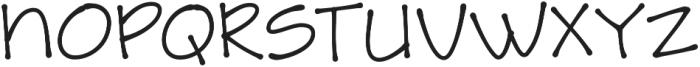 Amike otf (700) Font UPPERCASE
