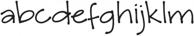 Amike otf (700) Font LOWERCASE