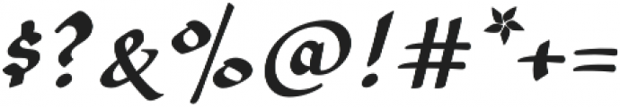 Amilly Script otf (400) Font OTHER CHARS