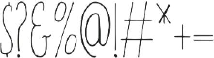 Amirah Regular otf (400) Font OTHER CHARS