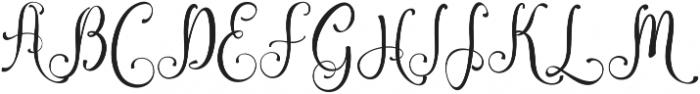 Amirra Script Amirra_Script Clean ttf (400) Font UPPERCASE