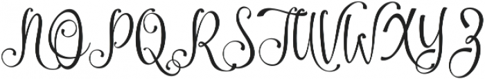 Amirra Script Amirra_Script Rough ttf (400) Font UPPERCASE