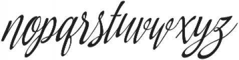 Amirra Script Amirra_Script Slant Rough ttf (400) Font LOWERCASE