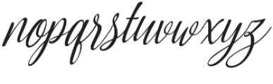 Amirra Script Amirra_Script Slant otf (400) Font LOWERCASE
