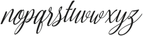 Amirra Script Amirra_Script Slant ttf (400) Font LOWERCASE
