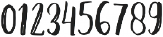Amist Rough ttf (400) Font OTHER CHARS