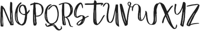 Amist Rough ttf (400) Font UPPERCASE