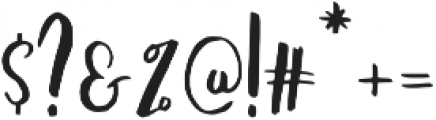 Amist ttf (400) Font OTHER CHARS