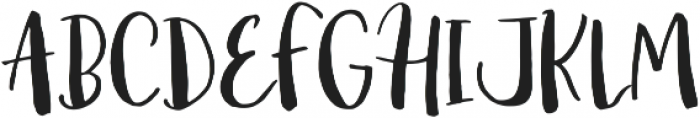 Amist ttf (400) Font UPPERCASE