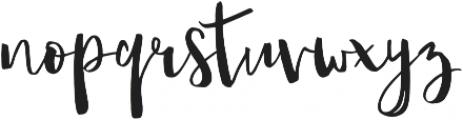 Amist ttf (400) Font LOWERCASE