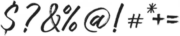 Amithen Regular otf (400) Font OTHER CHARS