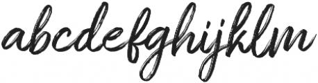 Amithen Regular otf (400) Font LOWERCASE