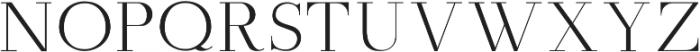 Amity Pro ttf (400) Font UPPERCASE