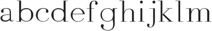 Amity Pro ttf (400) Font LOWERCASE