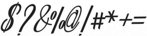 Amlight Bold otf (300) Font OTHER CHARS