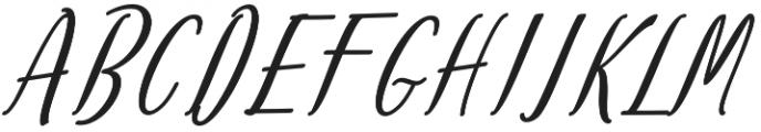 Amlight Bold otf (300) Font UPPERCASE