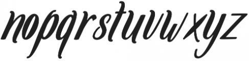 Amlight Bold otf (300) Font LOWERCASE