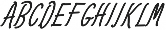 Amlight Extra otf (300) Font UPPERCASE