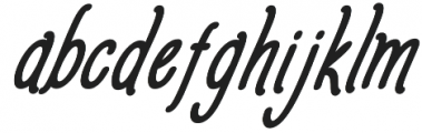 Amlight Extra otf (300) Font LOWERCASE