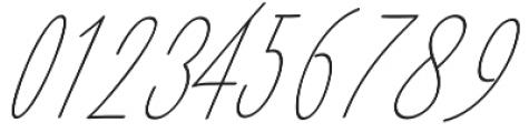 Amlight LIne otf (300) Font OTHER CHARS