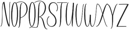 Amlight Medium otf (300) Font UPPERCASE