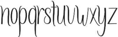 Amlight Medium otf (300) Font LOWERCASE