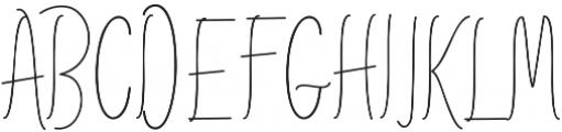 AmlightLine otf (300) Font UPPERCASE