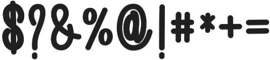 AmlightRegular otf (300) Font OTHER CHARS