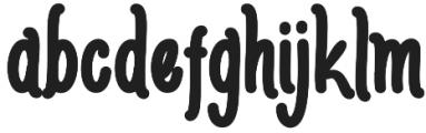 AmlightRegular otf (300) Font LOWERCASE