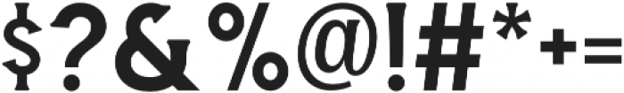 Amnestia Normal otf (400) Font OTHER CHARS