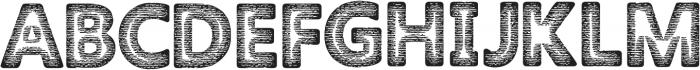 Amoky Halftone 2 Typeface ttf (400) Font UPPERCASE