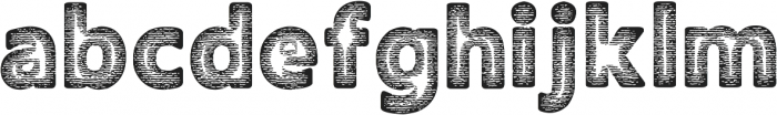 Amoky Halftone 2 Typeface ttf (400) Font LOWERCASE