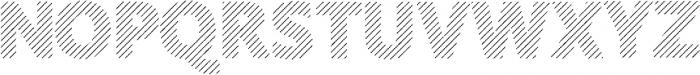 Amoky Shading Typeface ttf (400) Font UPPERCASE