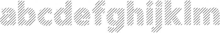 Amoky Shading Typeface ttf (400) Font LOWERCASE