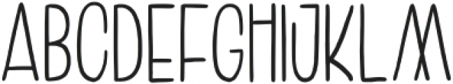 Amoore otf (400) Font LOWERCASE