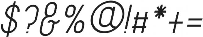 Amoreiza otf (400) Font OTHER CHARS
