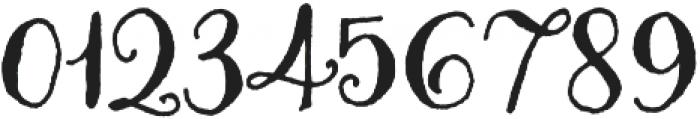 Amoretta Dark otf (400) Font OTHER CHARS