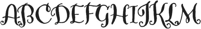 Amoretta Dark otf (400) Font UPPERCASE