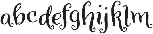 Amoretta Dark otf (400) Font LOWERCASE