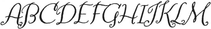 Amoretta otf (400) Font UPPERCASE