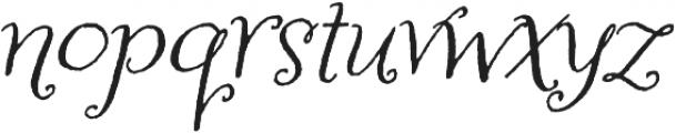 Amoretta otf (400) Font LOWERCASE