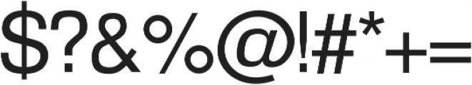 Amper Regular otf (400) Font OTHER CHARS