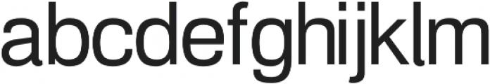 Amper Regular otf (400) Font LOWERCASE