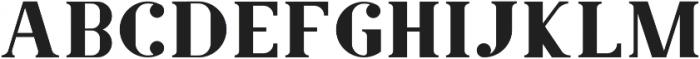 Amphi Regular otf (400) Font UPPERCASE