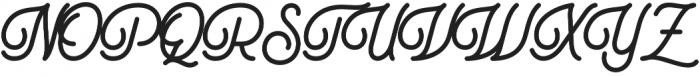 Ampihan otf (400) Font UPPERCASE